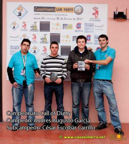 Campeonato call of dutty casasimarro lan party